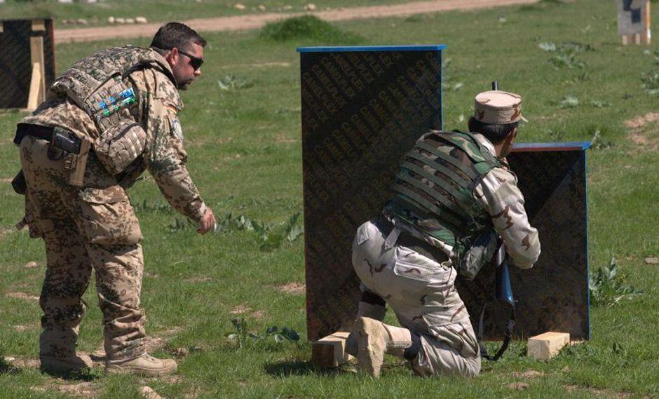 Alemania suspende entrenamiento militar de Irak por las tensiones con Irán. (EFE)