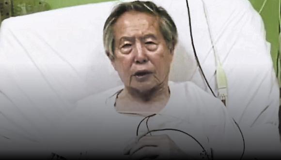 Declaran infundado hábeas corpus presentado a favor de Alberto Fujimori por temor al contagio de COVID-19.