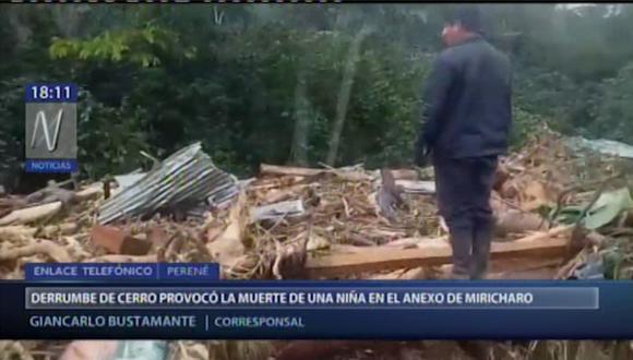 Hasta el lugar llegó personal del Ejercito del Perú para ayudar con la búsqueda y rescate de los desaparecidos. (Canal N)