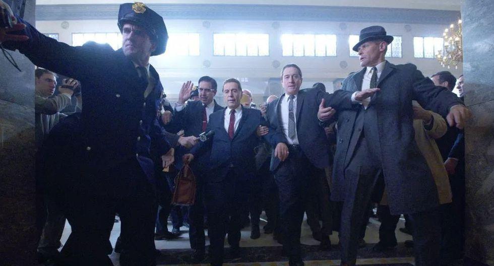 """Netflix lanzó el tráiler final de """"The Irishman"""", la cinta protagonizada por Robert De Niro y Al Pacino. (Foto: Netflix)"""