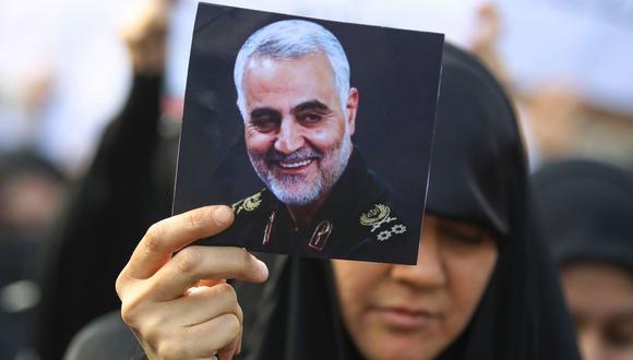"""Teherán prometió una """"dura venganza en el lugar y el momento adecuados"""" por la muerte de Soleimani. (Foto: AFP)"""