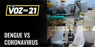 Análisis del avance del coronavirus y el dengue en el Perú