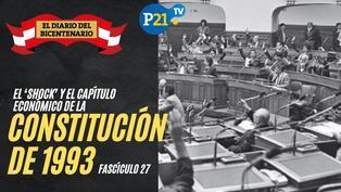 El 'shock' y el capítulo económico de la Constitución de 1993
