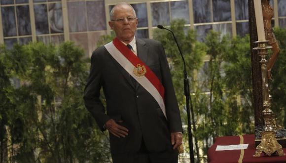 Hoy el Pleno del Congreso admitió la solicitud de moción de vacancia contra el presidente de la República, Pedro Pablo Kuczynski (PPK). (Piko Tamashiro/Perú21)