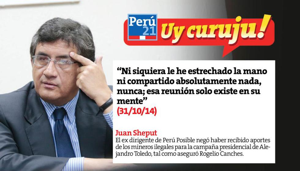 Sheput respondió a acusaciones sobre aportes mineros. (Perú21)
