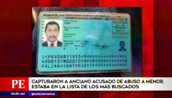 Anciano acusado de abusar a una menor de edad es detenido en Jicamarca. (Video: América TV)