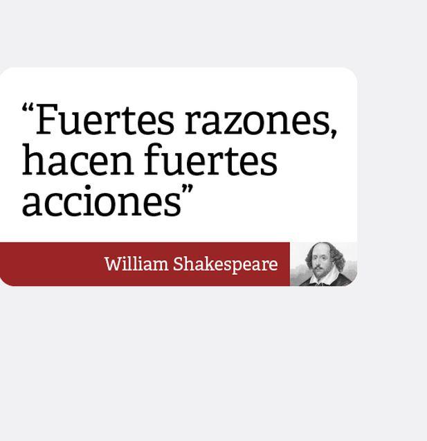 William Shakespeare Inspiró Al Mundo Con Estas 10 Frases