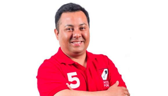 Pedro Morales Miranda es candidato al Congreso con el Nº 5 por Acción Popular. (Foto: Difusión)