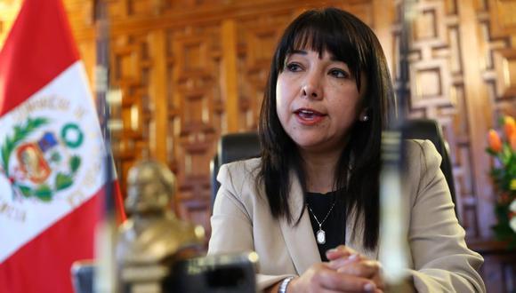 Mirtha Vásquez, presidenta del Congreso, aseguró que deben aprobar la eliminación de la inmunidad parlamentaria para responder a la ciudadanía. (Foto: Alessandro Currarino/ GEC)