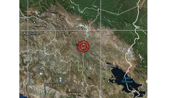 Un sismo de magnitud 4,1 se registró en la región Cusco. (Foto: IGP)