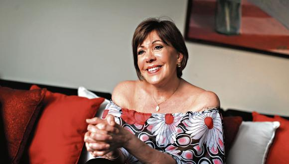 Yvonne Frayssinet. Actriz peruana de cine, telenovelas y teatro. (USI)