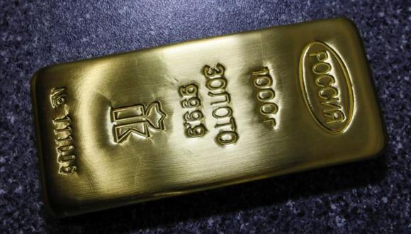 Los futuros del oro en Estados Unidos ganaban un 0.4% a US$ 1,348 la onza. (Foto: Reuters)