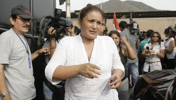 Olga Meza se encuentra en prisión. (Alberto Orbegoso)