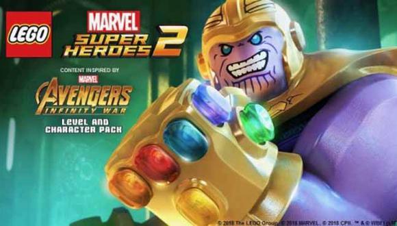 Gracias a este nuevo contenido descargable, podremos encarnar al poderoso Thanos como también a otros personajes.