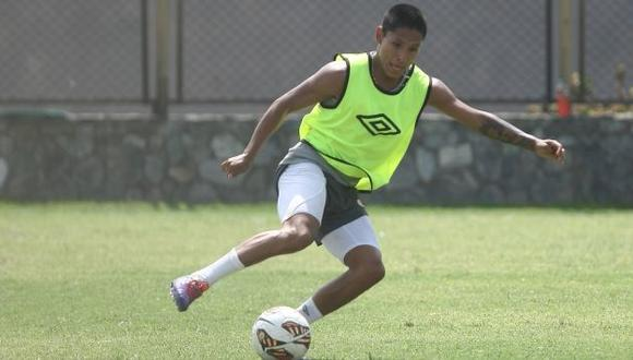 Copa Libertadores 2014: Raúl Ruidíaz vestirá la '9' de 'Lolo' ante Veléz. (USI)