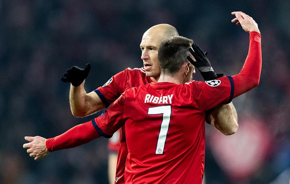 Arjen Robben y Franck Ribery le dicen adiós al club 'Bávaro' .(Getty)