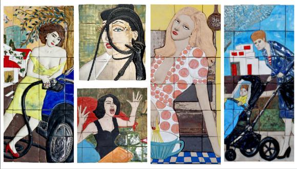 Exposición muestra trabajos en cerámica vidriada de Teresa Carvallo.