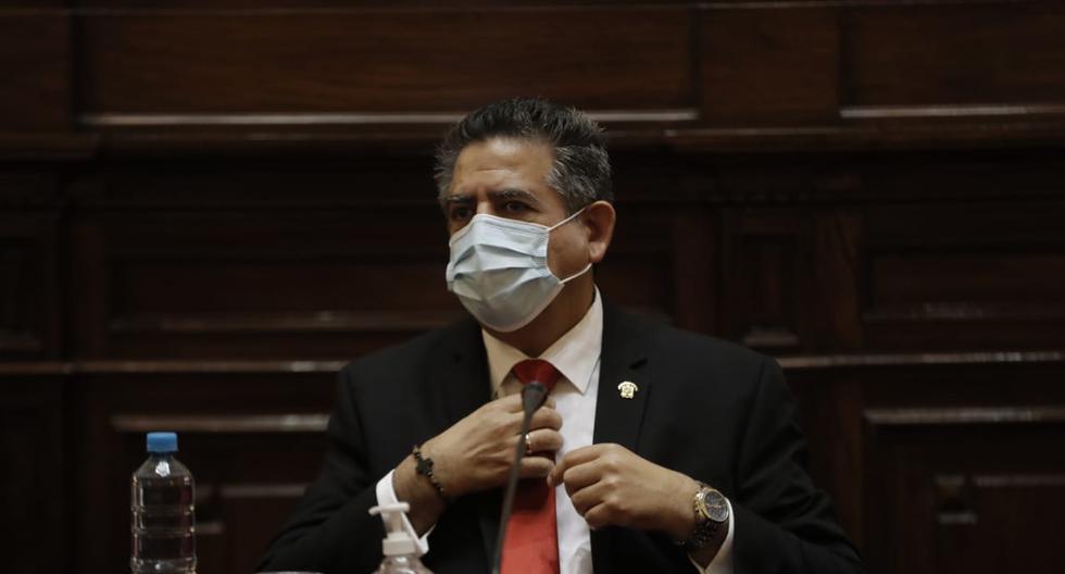 """Congresista Ancalle: """"Manuel Merino es el responsable de demora en trámite de denuncias contra Edgar Alarcón"""""""