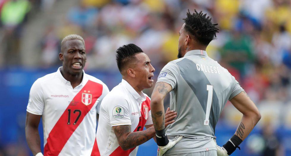 Las arengas que no se vieron para Pedro Gallese tras 'blooper' en la Copa América 2019. (Reuters)