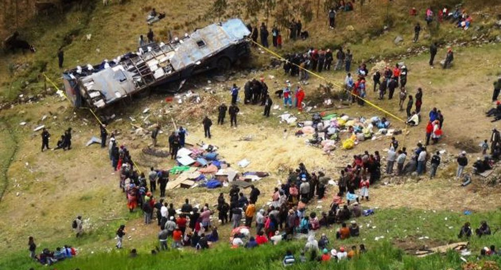 Accidente ocurrió la madrugada del pasado domingo. (Andina)
