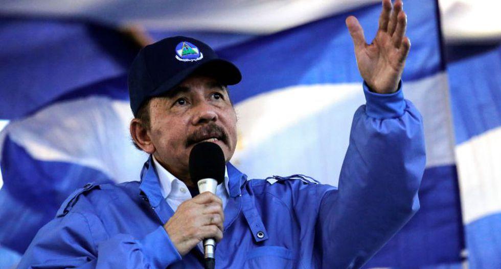 "Daniel Ortega hizo un llamado a Donald Trump a ""que si quieren contribuir con la paz de Nicaragua, respeten a su patria"". | Foto: AFP"