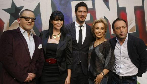 Elenco fue presentado ayer con su nuevo integrante: Beto Ortiz. (Mario Zapata)