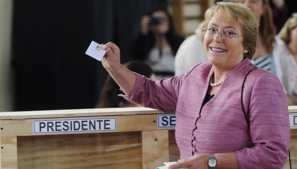 FAVORITA. El 15 de diciembre Bachelet se convertiría en la primera mujer en ser reelegida en Chile. (Reuters)