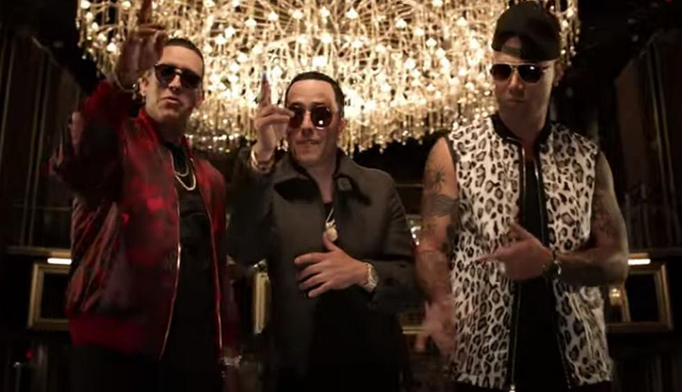 """Daddy Yankee se unió a Wisin y Yandel para lanzar su nuevo hit """"Si Supieras"""". (Foto: Captura de video)"""