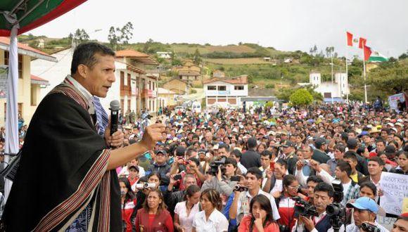 Ollanta Humala critica a alcaldes por 'proyectos faraónicos'. (Presidencia Perú)