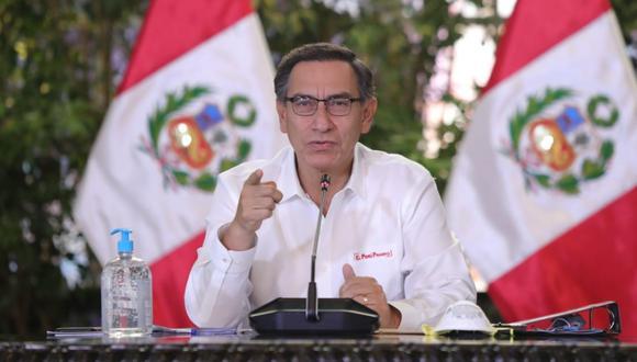 """Martín Vizcarra anuncia que """"solo los dos domingos posteriores habrá  inmovilización social obligatoria"""" (GEC)"""