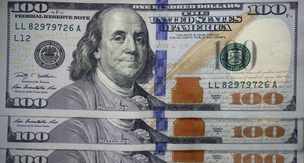 El dólar se cotizó en la sesión anterior a S/ 3.383. (Foto: GEC)