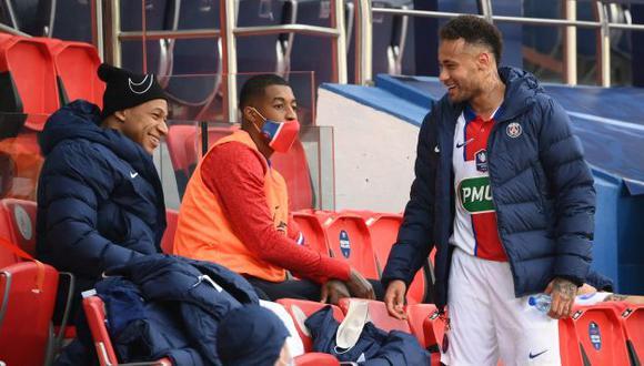 Las dos principales figuras del PSG fueron señaladas tras la derrota a manos de Manchester City. (Foto: AFP)