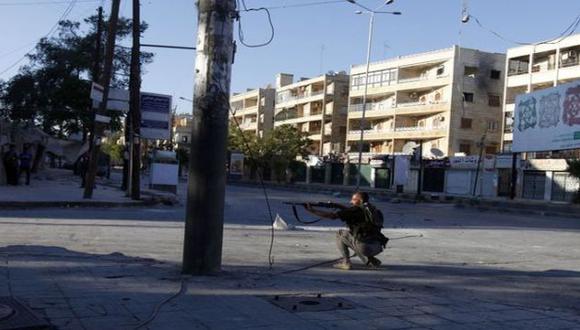 ALEPO. Continúan los enfrentamientos entre rebeldes y el Ejército. (Reuters)
