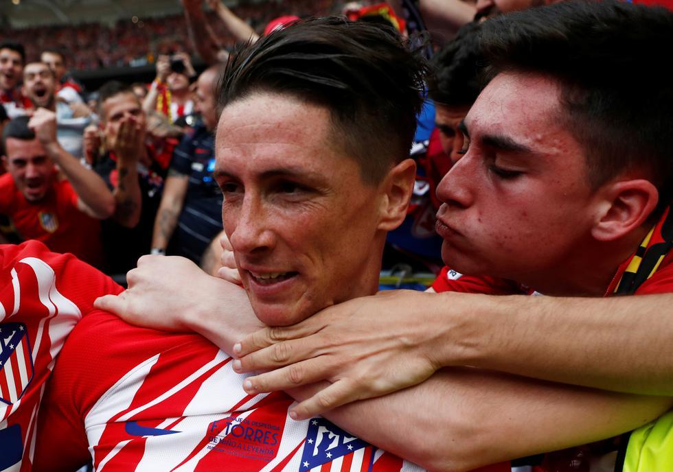 """""""He necesitado toda una carrera para conseguir estar donde me prometí cuando tenía 11 años"""", destacó Torres en la antesala de su adiós. (REUTERS)"""