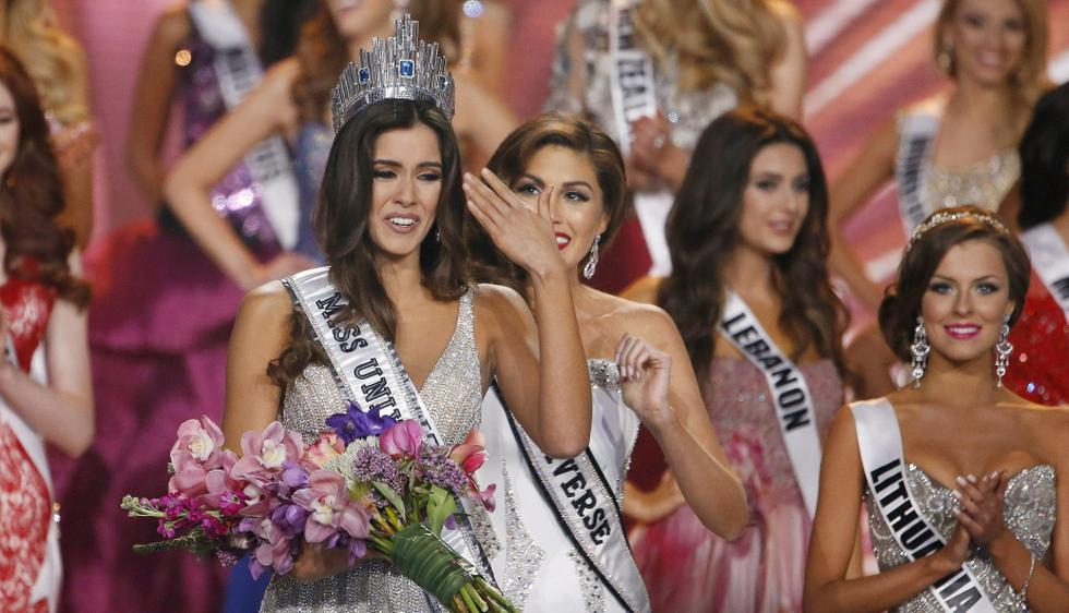 Paulina Vega, respresentante de Colombia, fue eleguida Miss Universo 2015. (EFE)
