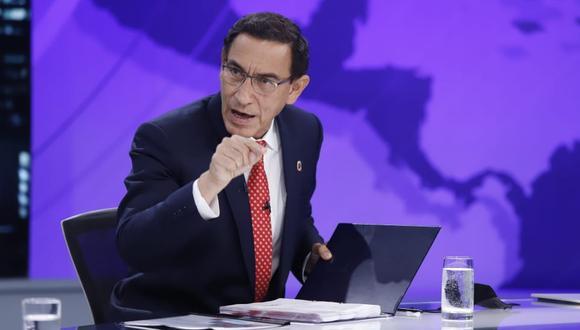 Martín Vizcarra aseguró que no recomendó contratación de Richard Cisneros. (Foto: Presidencia)