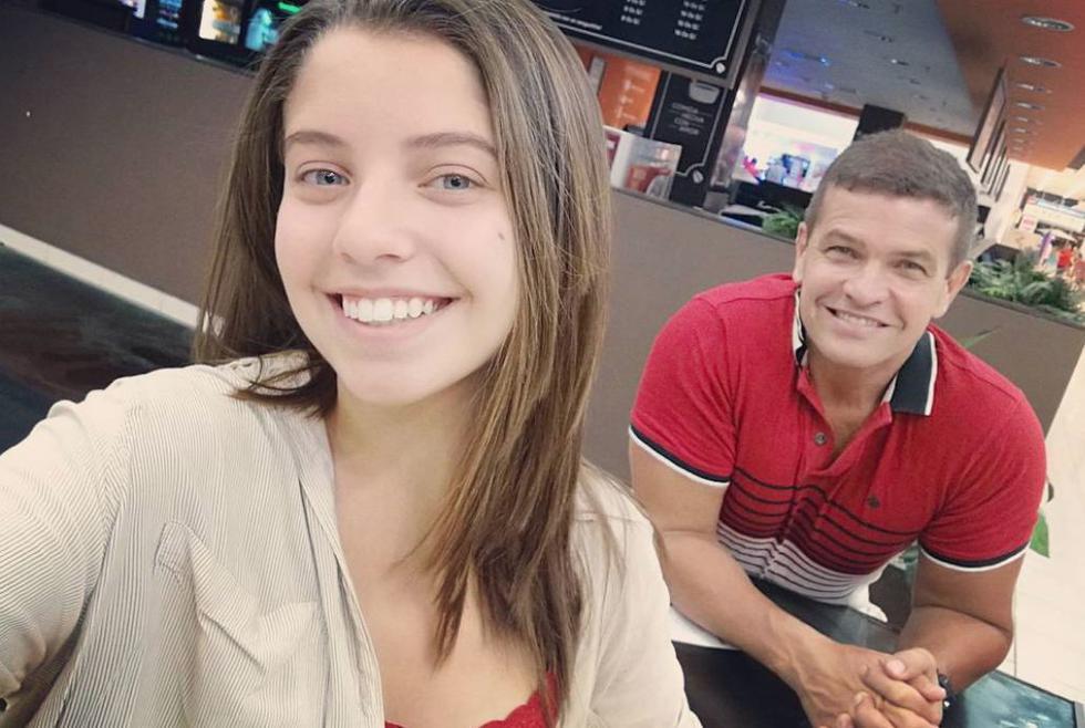 Orlando Fundichely está orgulloso de su hija mayor Doris Alexia. (Facebook/@OFundichely)
