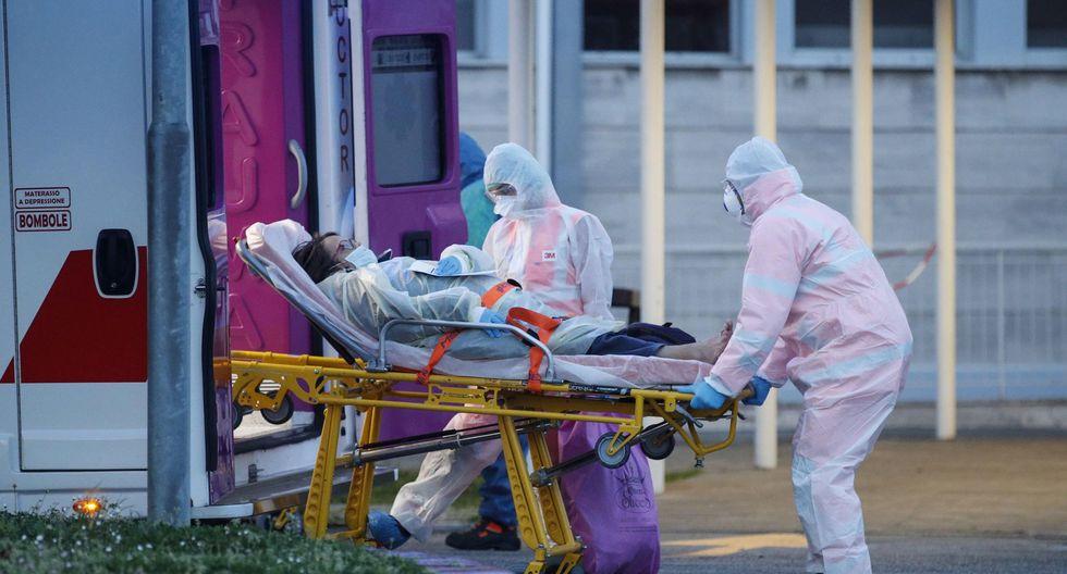 España e Italia reclamaron más ayuda por parte de Europa en la lucha contra los brotes de coronavirus. (EFE / EPA / GIUSEPPE LAMI).