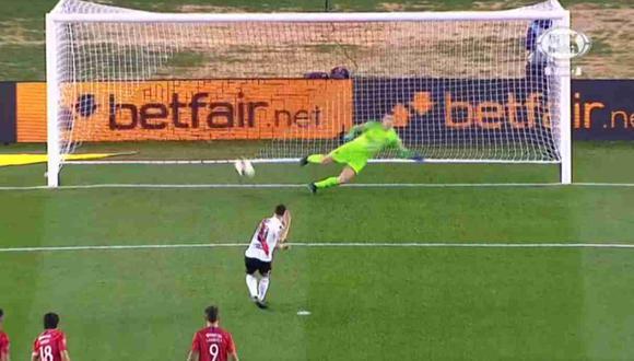 Mira el gol de Rafael Santos Borré. (Captuira: Fox Sports)