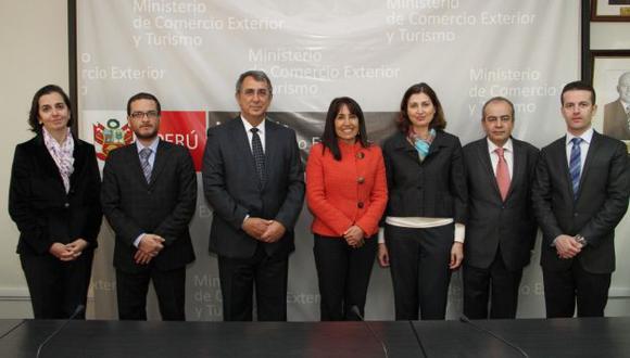 Silva se reunió con embajador de Turquía en Lima. (Mincetur)