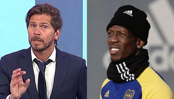Advíncula recibió comentarios racistas de un aficionado en el Boca Juniors vs. Atlético Tucumán. (Foto: Difusión Twitter)