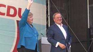Merkel y Scholz intentan movilizar sufragantes en Alemania ante elecciones impredecibles