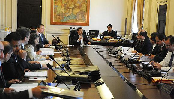La norma fue aprobada en la sesión ministerial de hoy. (Andina)