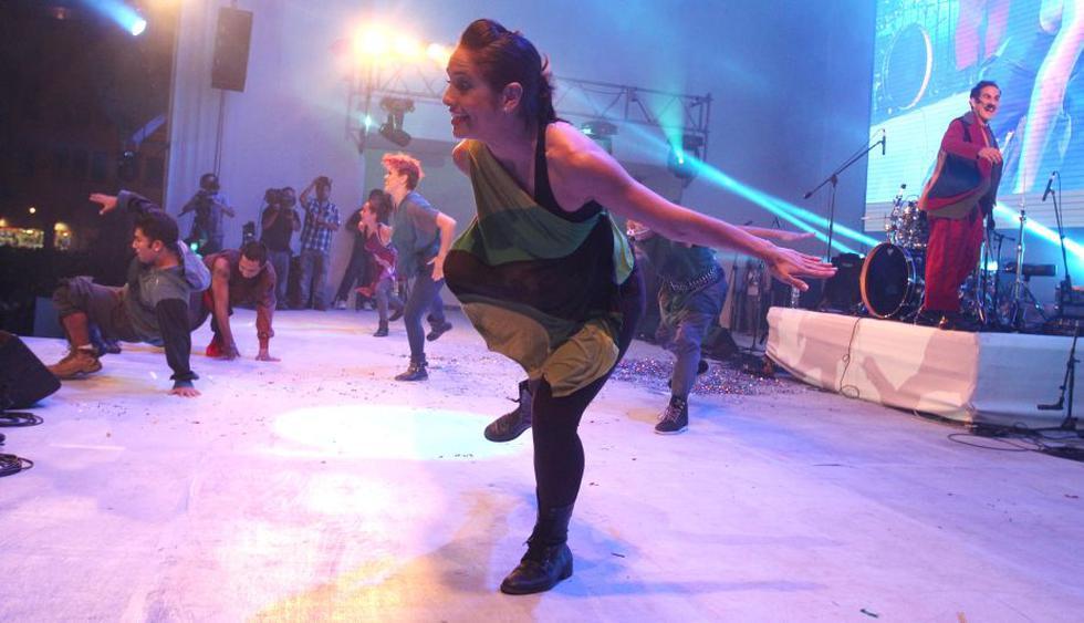 El grupo Perú Negro también presentó lo mejor de su repertorio. (Andina)