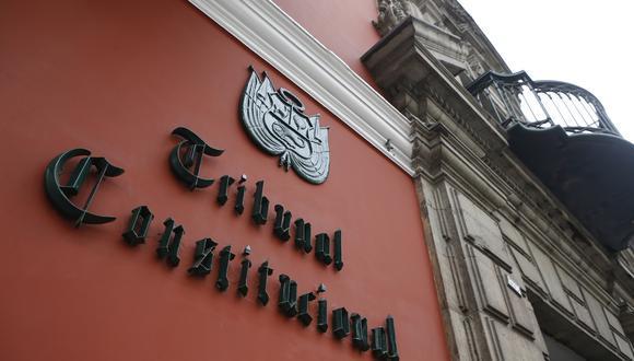 El Tribunal Constitucional decidirá sobre ambas normas. (Foto: GEC)