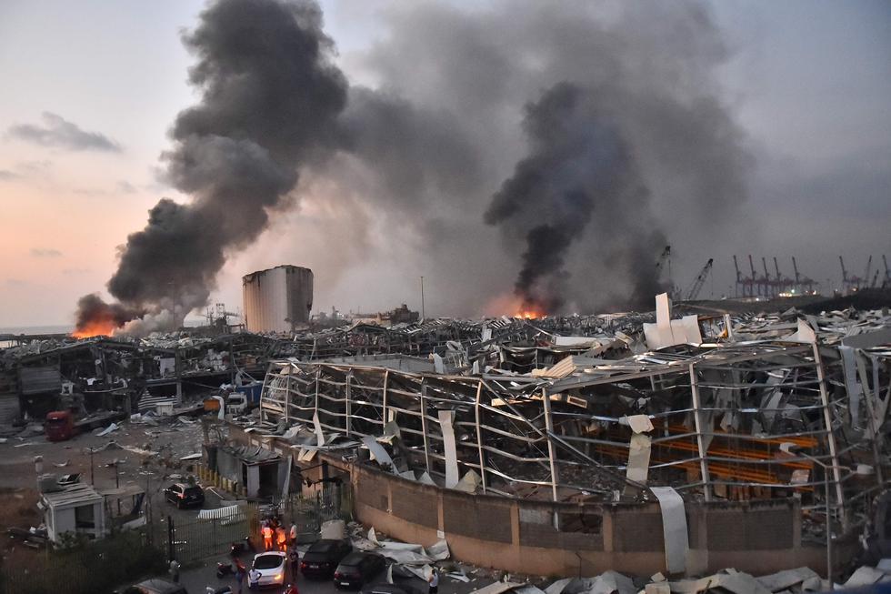 Unas 300.000 personas se han quedado sin casa en Beirut por la explosión. Foto: AFP / STR