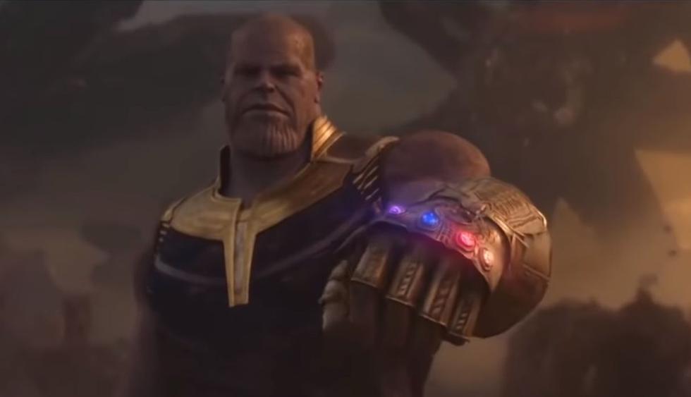 "Esta es la primera imagen oficial de Thanos en ""Avengers: Endgame"". (Foto: Marvel Studios)"