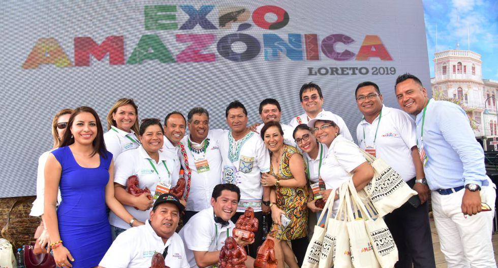 Expoamazónica agrupa lo mejor de los productos y servicios de las regiones de la selva. (PCM)