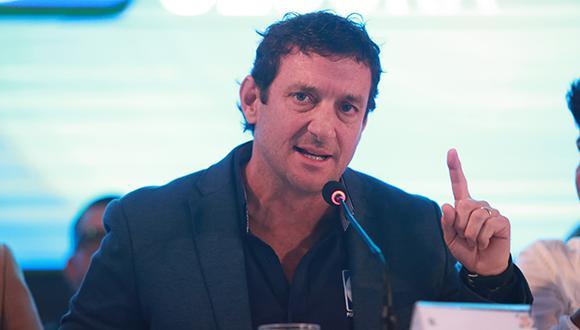 Candidato a la alcaldía de Lima Renzo Reggiardo fue acusado de plagio. (Foto: El Comercio)