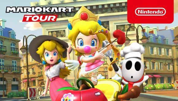 Llegan grandes novedades para 'Mario Kart Tour' este mes de febrero. (nintendo)
